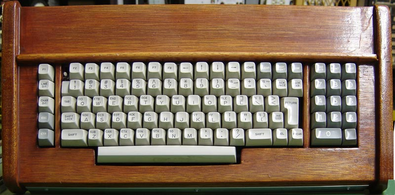 an ascii serial keyboard